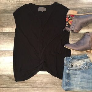 {Sunday in Brooklyn} Anthropology twist front top